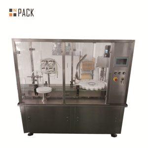 Máquina de recheo de aceite esencial de biberón Dropper
