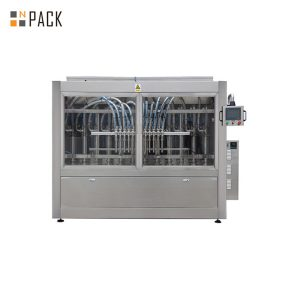 Máquina automática completa de recheo de champús