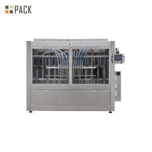 Máquina automática de recheo de lavado de botellas de aceite para mascotas