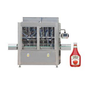 Máquina de recheo para pasta de tomate, crema cosmética