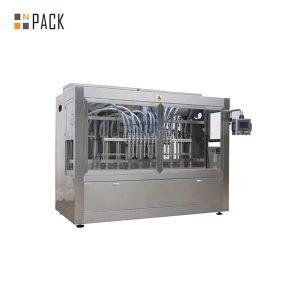 Máquina automática de recheo de líquidos recta de seis cabezas