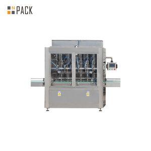 Máquina automática lineal de recheo de pistón lineal para aceite esencial