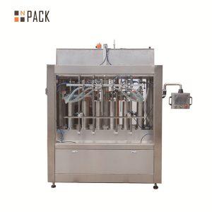 Máquina automática de recheo de líquidos con salsa de tomate volumétrica