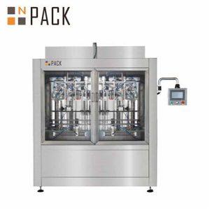 Máquinas automáticas de recheo de aceite de coco completamente comestibles