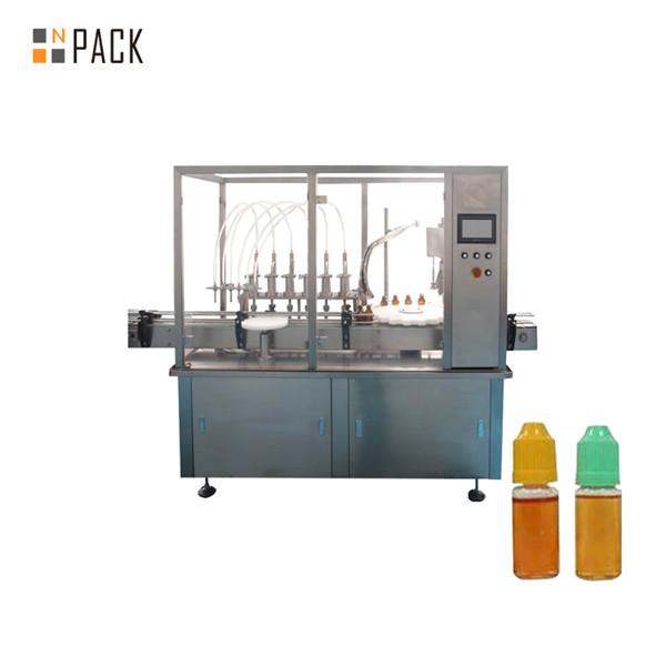 Máquina automática de recheo de pulverizador de desodorizante líquido para lavar louza