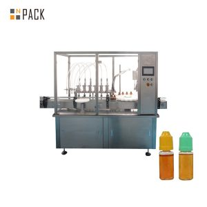 Máquina de recheo de líquido peristáltico para botella pequena