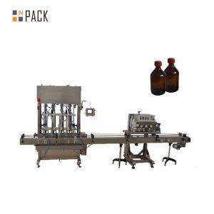 Máquina automática de tapón de botella de PET para tapas de eixo automático