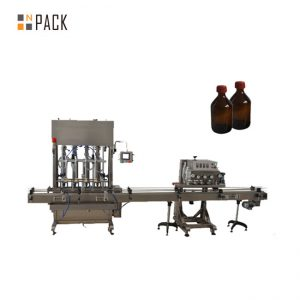 Máquina automática de recheo de aceite lubricante / de alta precisión