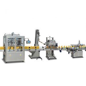 Máquinas de recheo automáticas completas de botellas de 2 en 1 sus304 para facer aceite de oliva