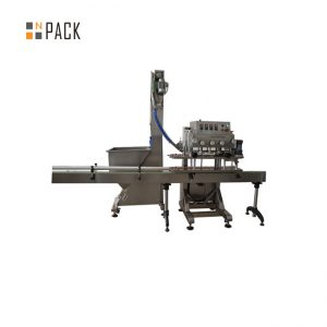 Mellor calidade eficaz 6 máquinas de tapón de rosca con gran prezo
