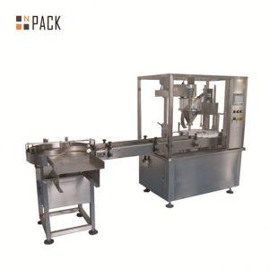Máquina de recheo de 2 oz de recheo e máquina de tapado