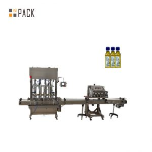Máquina automática de recheo de aceite de aceite de motor de botella de pistón de 1-5L
