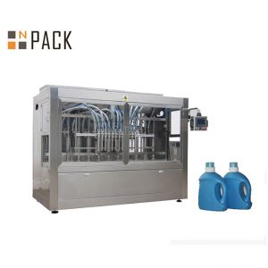 máquina de recheo de líquido corrosivo de ácido lixivia