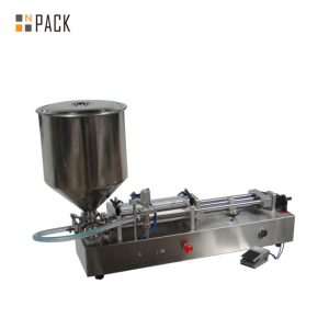 Moi popular máquina de recheo de xeado / máquina de recheo de dobre cabeza / máquina de recheo de esmalte de uñas