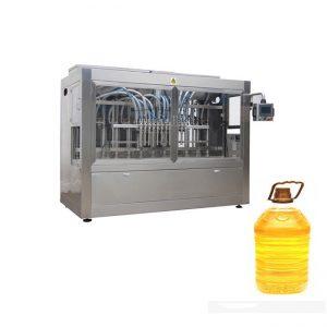 Aceite comestible automático de aceite de aceite de sementes de xirasol 4 cabezas de recheo, recheo da liña de produción