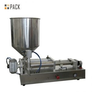 Costomic 2 Cabezas Máquina de recheo de líquidos semiautomáticos ácidos