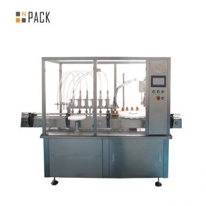 Tapón de recheo de aceite esencial Equipo de parafuso 10-100ml E líquido E zume Máquina de recheo de recheo