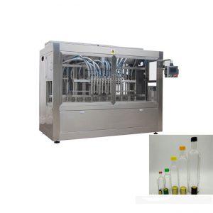 máquina de recheo automático de salsa de fresas de botella de vidro