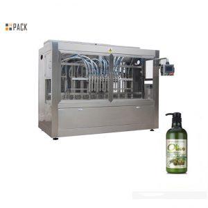 Máquina automática completa de envasado de champú para baño