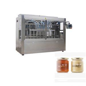 Máquina embotelladora de envasado de mel de bote barato