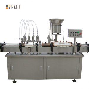 Máquina de recheo de botella chubby de alta calidade e-liquid e líquido de recheo máquina de recheo pequena gota