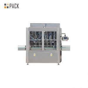 Máquina de recheo de aceite vexetal de máquina de recheo de botella de alta calidade