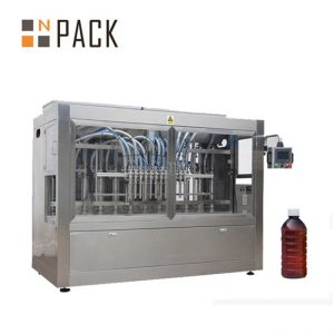 Máquina de recheo de aceite de cociña automática máquina de recheo de mel de salsa