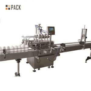 Máquina de recheo de vinagre con salsa de soia, máquina de recheo de aceite vexetal, máquina de salsa