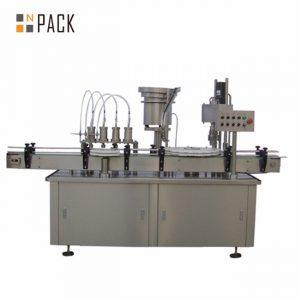 Máquina automática de recheo de botella de gota de e-líquido automática de 10ml 15ml 30ml