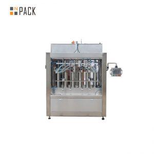 Máquina de recheo automático de aceite lubricante de 5 litros / planta de fabricación