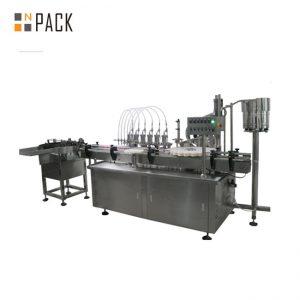 Máquina de recheo dixital de líquido e crema automático de varias cabezas